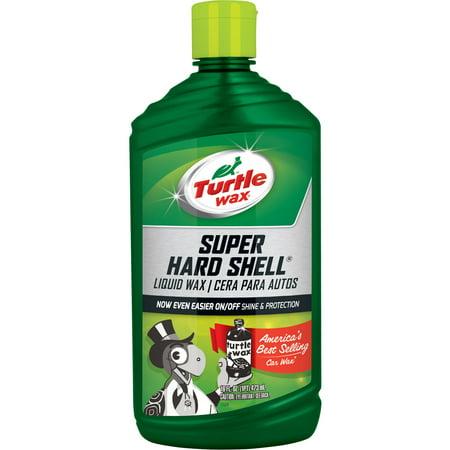 Turtle Wax Super Hard Shell Liquid Wax, (Cars Shiny Wax)