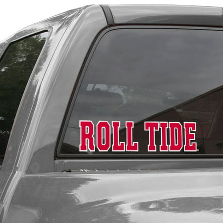 Alabama Crimson Tide WinCraft Roll Tide Perfect Cut Decal - No Size (Alabama Roll On)