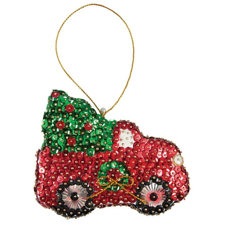 Sunrise Craft & Hobby™ Christmas Tree Truck Ornament - Christmas Ornament Craft