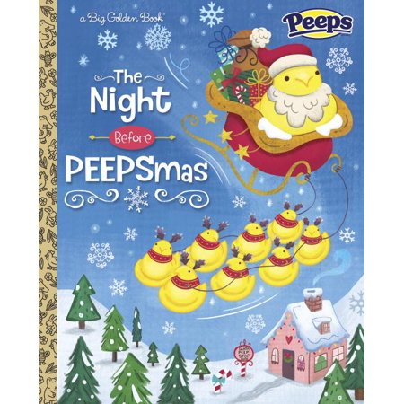 Big Golden Book: The Night Before Peepsmas (Peeps) (Hardcover) for $<!---->