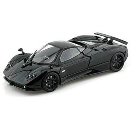 black pagani zonda c12 car 1:24 scale die cast - walmart