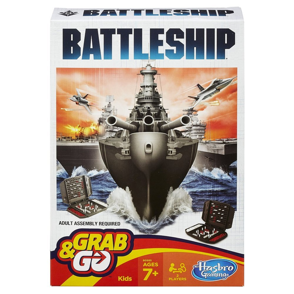 Game Battleship Grab & Go Game Bx-a4-6-t48 By Hasbro by