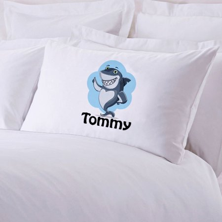 791d152084b Sale! Sale! Sale! Monogrammed Personalized Custom Shark Pillowcase for  Kidz. Made in the USA.
