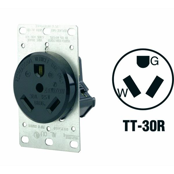 Leviton RV Power Outlet Receptacle
