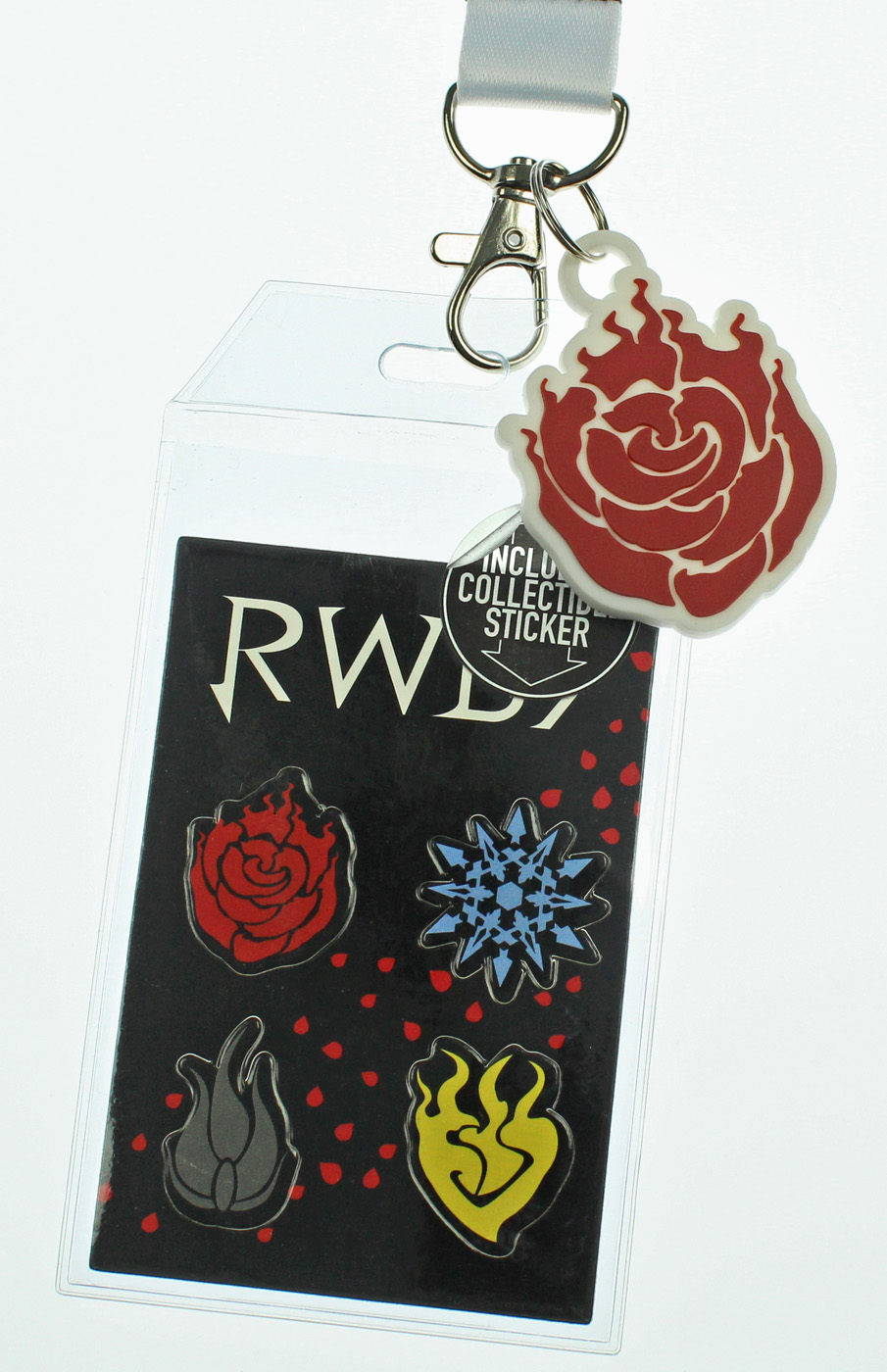 RWBY Emblems ID Lanyard Badge Holder with 2