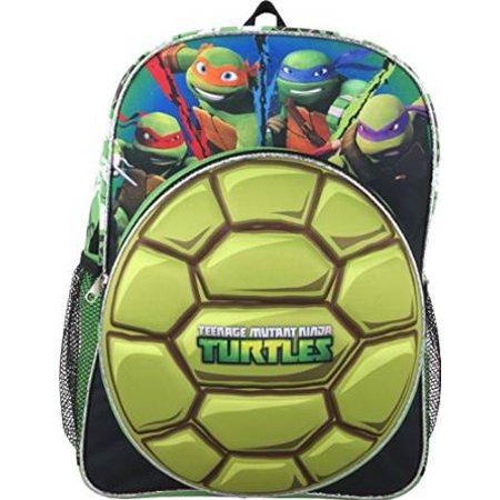 Backpack - Teenage Mutant Ninja Turtle - Tortoise Shell New 663735](Teenage Mutant Ninja Turtles Backpack For Kids)