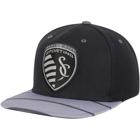 Sporting Kansas City Mitchell & Ness Diamond Adjustable Snapback Hat - Black - OSFA (Mitchell Ness Diamond)
