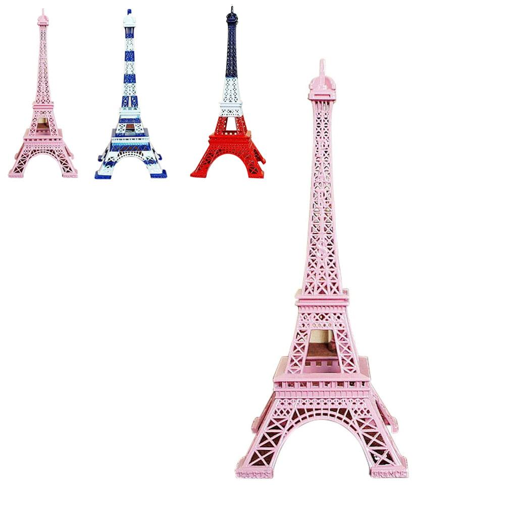 New Colorful France Paris Eiffel Tower Model Home Decoration Metal Model