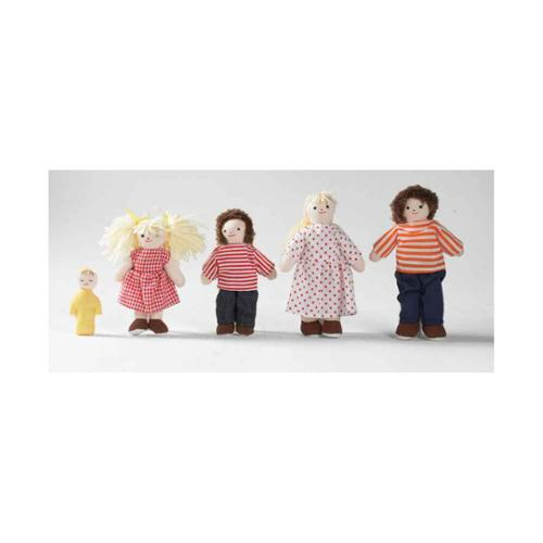 CHILDREN'S FACTORY Pose n Play White Family Doll Set - 5....