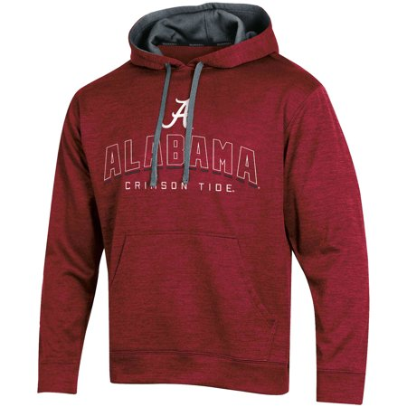 Men's Russell Crimson Alabama Crimson Tide Synthetic Pullover Hoodie