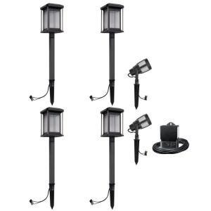 Malibu prominence 6 pk led contemporary light kit 8418 2906 06 malibu prominence 6 pk led contemporary light kit 8418 2906 06 aloadofball Gallery