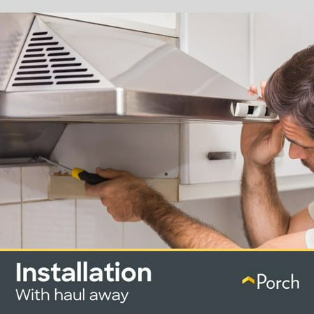 Range Hood Installation & Haul Away by Porch Home Services