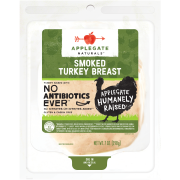 Applegate Naturals Sliced Smoked Turkey Breast, 7 Oz.