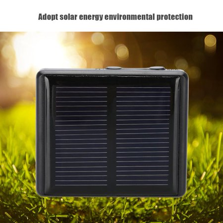 Qiilu Mini Portable Animal GSM GPRS GPS Locator Waterproof Solar
