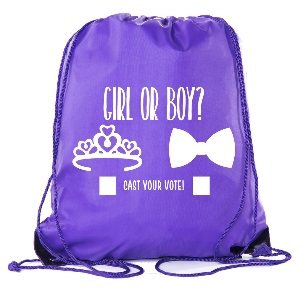 Baby Shower Party Favors Favor| Baby Shower Drawstring Backpacks, Baby Shower Favors for Gender Reveal