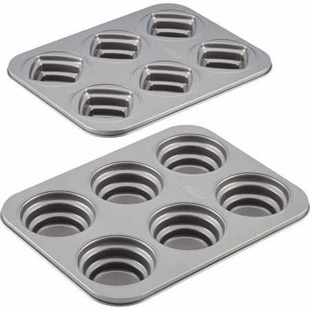 Cake Boss Specialty Bakeware 2 Piece Round And Square