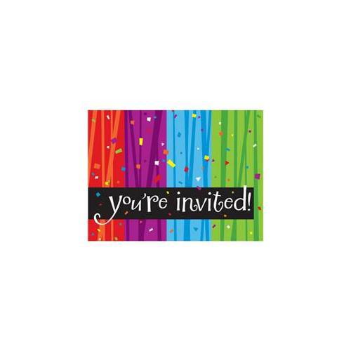 Creative Converting Milestone Celebrations Invitations