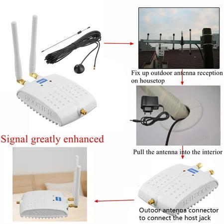 LCD GSM 1800M ALC Teknologi Penguat Sinyal untuk Sinyal Ponsel 4G LTE Booster Amplifier - image 2 de 9