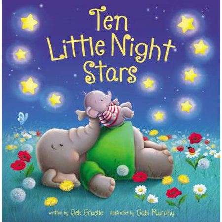 10 Little Night Stars (Board Book)
