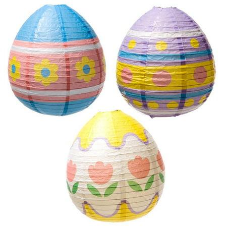 Easter Egg Lantern Decorations, Easter Egg Lanterns. By Century Novelty (Easter Lantern Decorations)