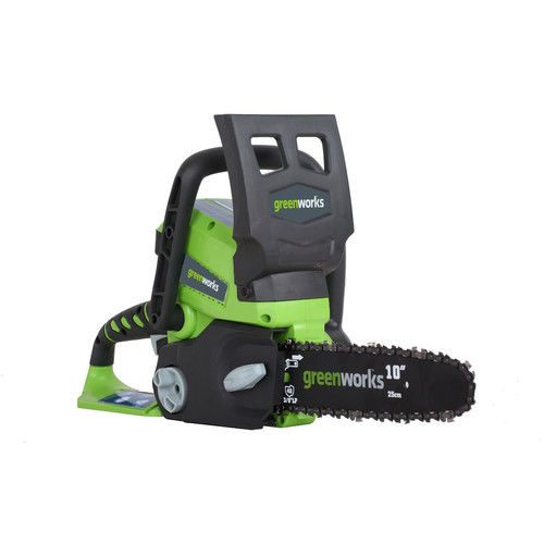 Greenworks 20362 24V Cordless Lithium-Ion Enhanced 10 in. Chainsaw Kit by GREENWORKS
