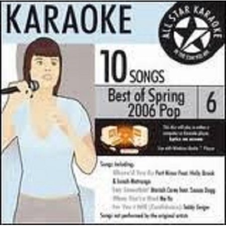Karaoke: Best of Spring 2006 Pop 2006