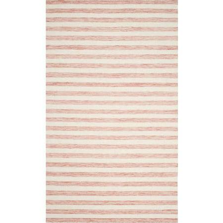 Safavieh Dhurrie Joetta Striped Moroccan Area Rug or Runner (Stripe Rug)