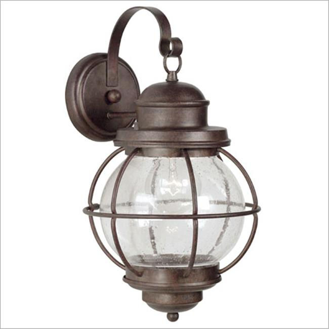 Hatteras Large Wall Lantern- Gilded Copper Finish