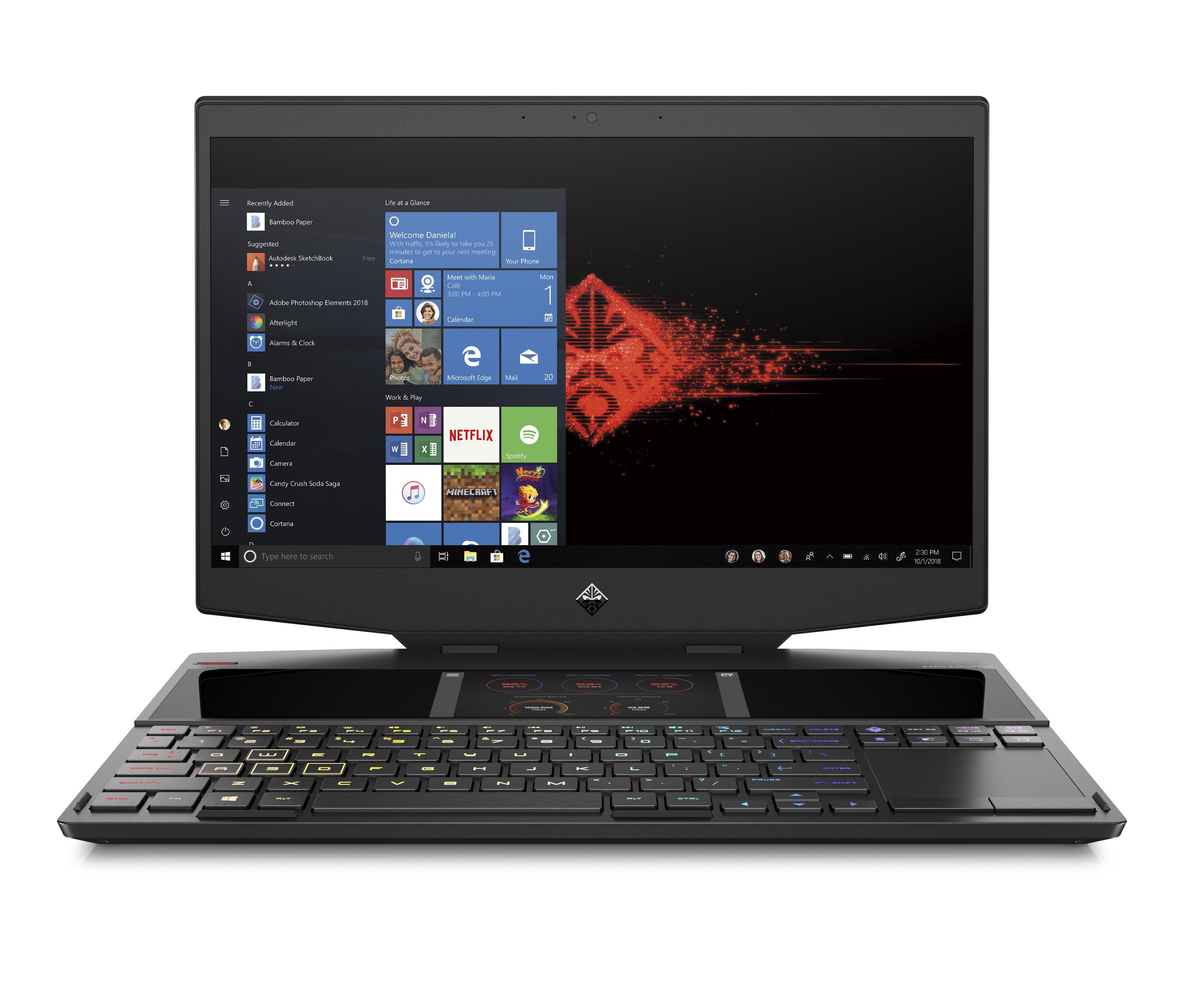 HP Omen X 2S 15-DG0020NR Laptop, 15.6'', Intel Core i7-9750H, NVIDIA GeForce RTX 2080 with Max-Q design, 1TB SSD Storage, 16GB RAM, 15-DG0020NR