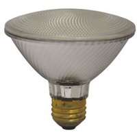 Sylvania Halogen Flood Lamp, Par30, 39 Watts, 120 Volts, Medium Base, 25 Deg. Beam, 10 Per Case