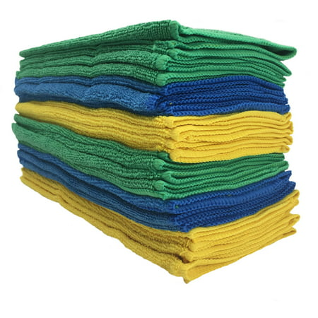 Viking Microfiber Auto Cleaning Cloth, 24 Pack