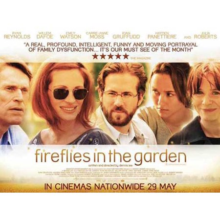 Fireflies The Movie (Fireflies in the Garden POSTER Movie Mini)