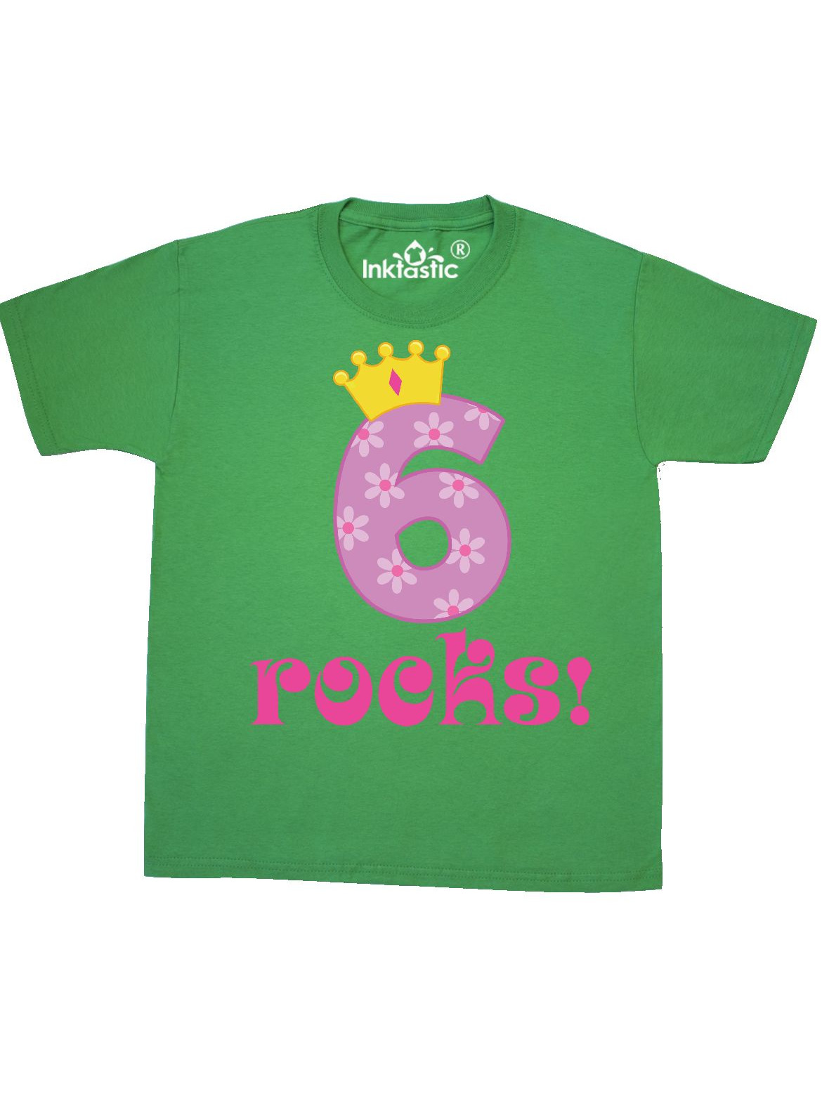 6th Birthday Rocks Youth T-Shirt