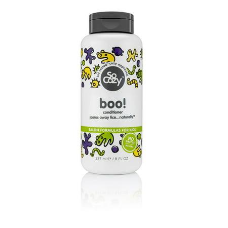 SoCozy Boo! Lice Prevention Conditioner, 8 Oz (Using Conditioner To Get Rid Of Lice)