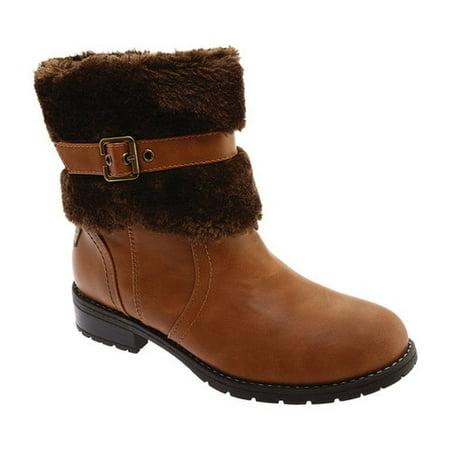 Portland Boot Company Timber Women's Faux Fur Boot (Faux Fur Boot Cuffs)