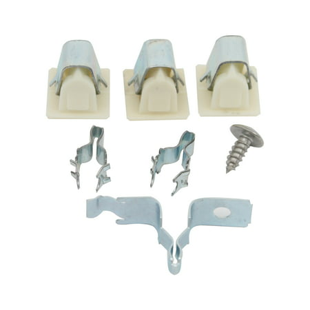 279570 Dryer Door Latch Kit Replacement for Whirlpool YLTE6234DQ3 Dryer - Compatible with 279570 Door Latch Kit - UpStart Components Brand - image 2 de 2