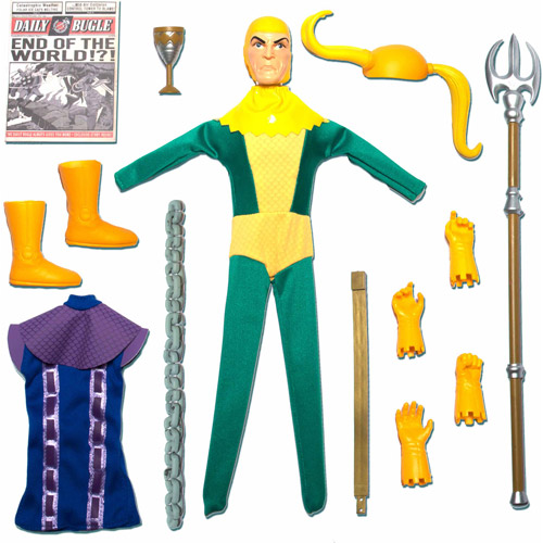 Round 2 Captain Action Loki Action Figure Deluxe Costume Set