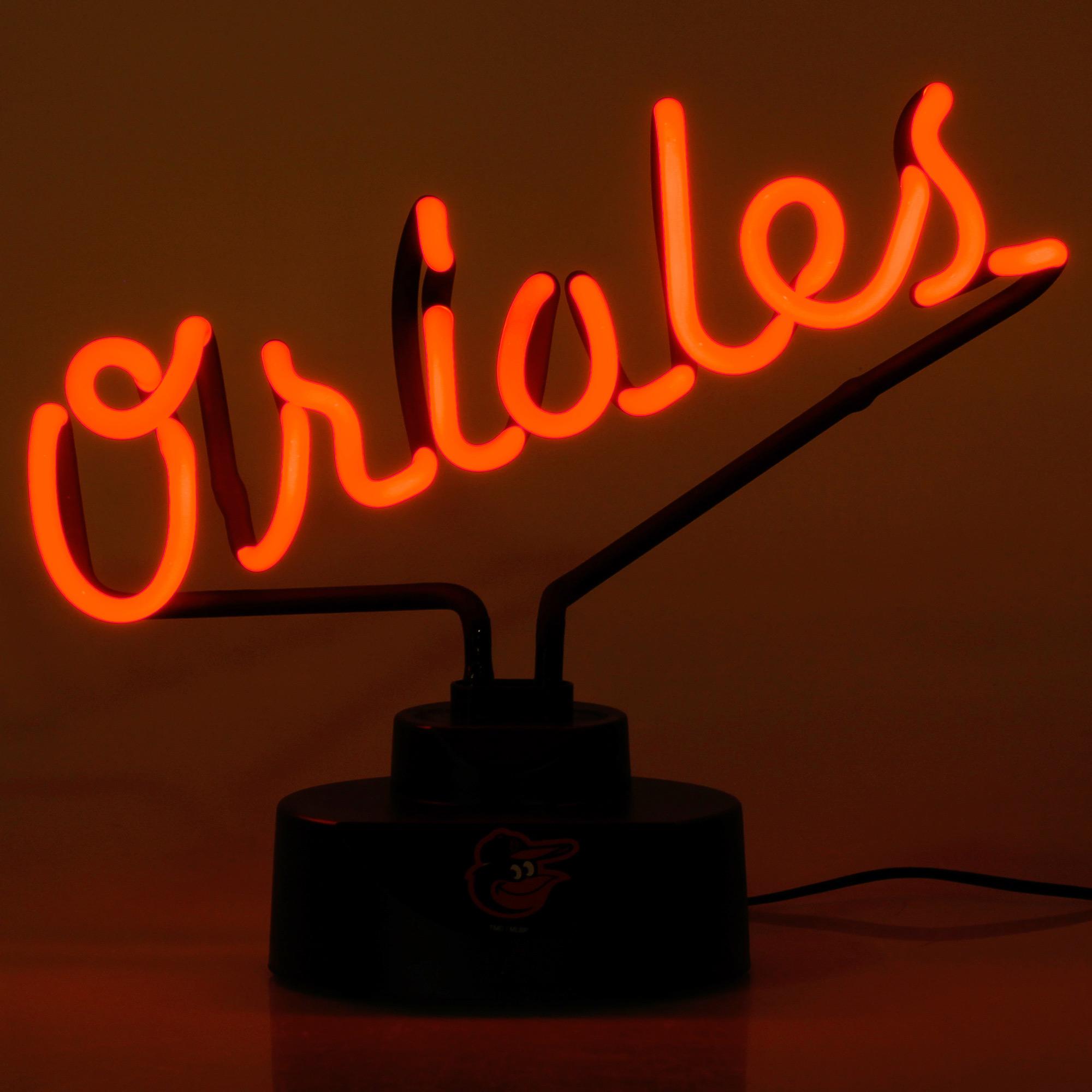 Baltimore Orioles Script Neon Light - No Size