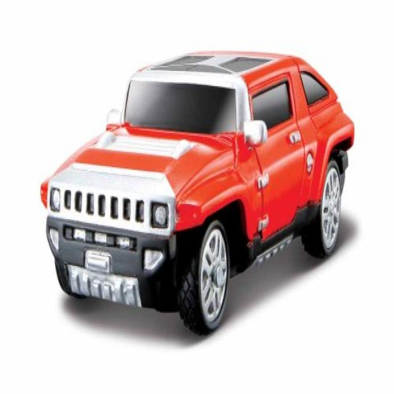 Maisto Radio Control Micro Hummer Red Commande Race Car