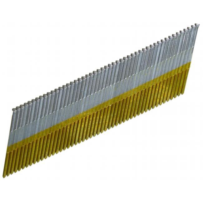 """Hitachi 24204S 2"""" 15 Gauge Electro Galvanized Angled Finish Nails 1,000 Ct"""