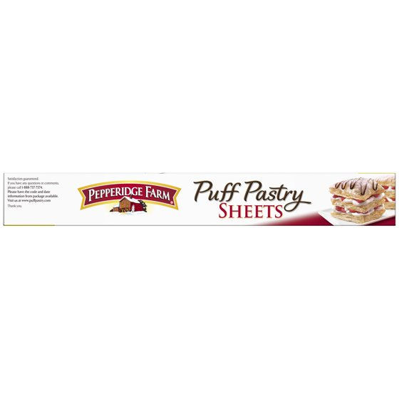 Pepperidge Farm Puff Pastry Frozen Sheets Pastry Dough 2 Count