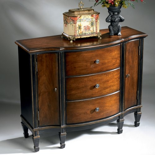 Astoria Grand Kadine 3 Drawer 2 Door Accent Cabinet