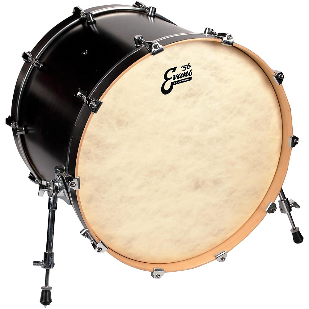 Evans Calftone Bass Drum Head 22 in.