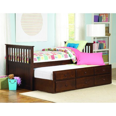 Woodhaven Hill Zachary Twin   Twin Trundle Bed