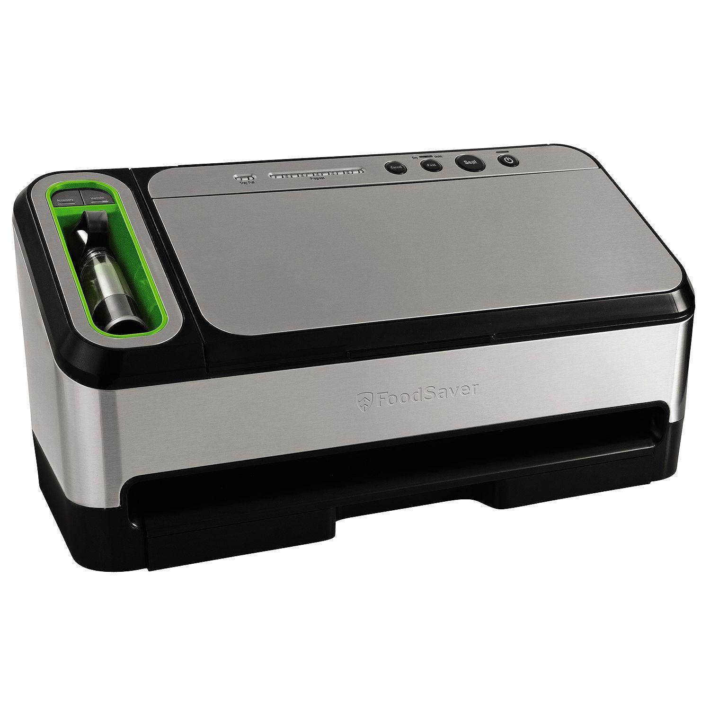 FoodSaver V4900 Vacuum Sealer System, Silver