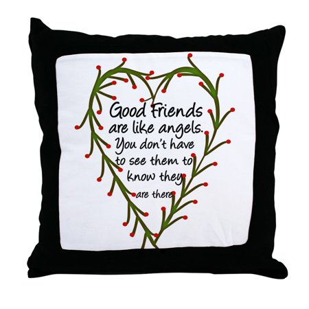 CafePress - Friends Are Like Angels - Decor Throw Pillow (18