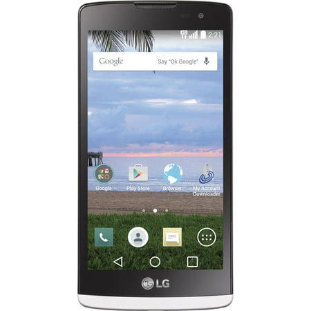 Straight Talk LG Sunset L33G LTE Prepaid Smartphone
