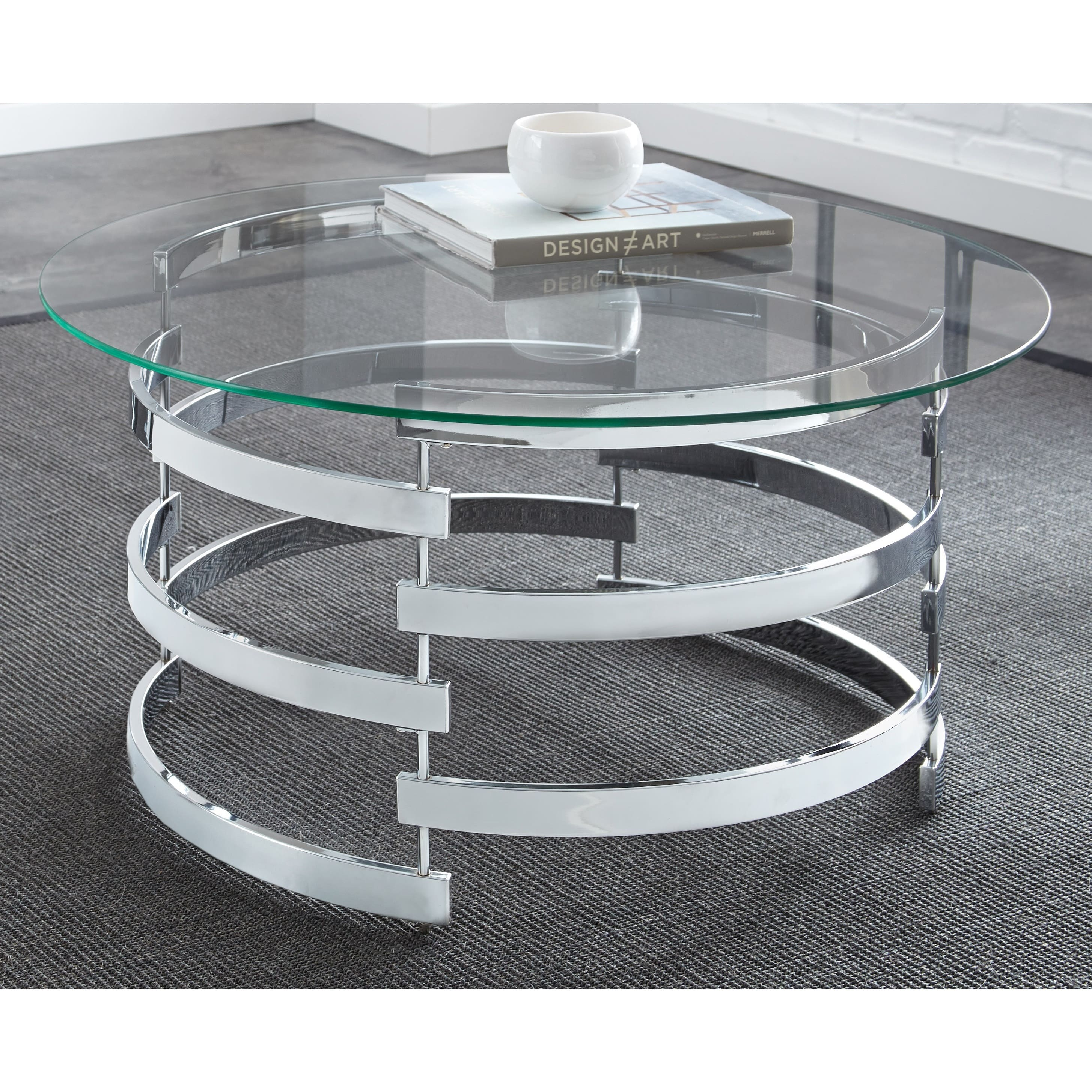 Greyson Living Tisbury Round Coffee Table by
