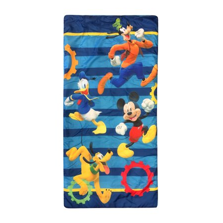 Mickey Mouse Club House Get Going Slumber Sack Backpack Nap Sack