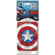 Plasticolor Marvel Captain America Air Fresheners, 2-Pack